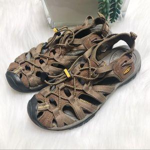 KEEN newport brown waterproof sandals